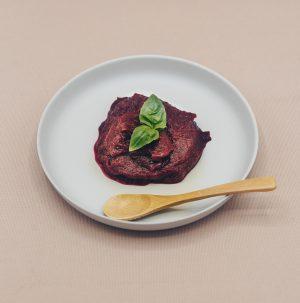 Rode biet | zoete aardappel | basilicum