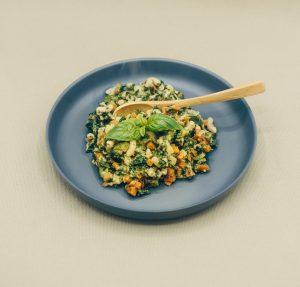 Pasta | courgette  | spinazie